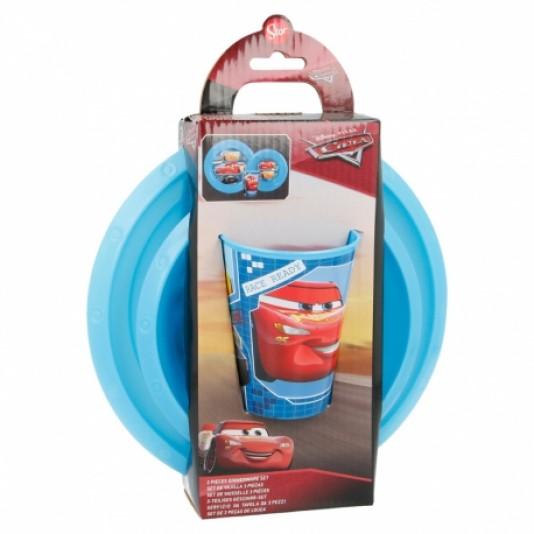 Disney Cars  3-delig ontbijtset