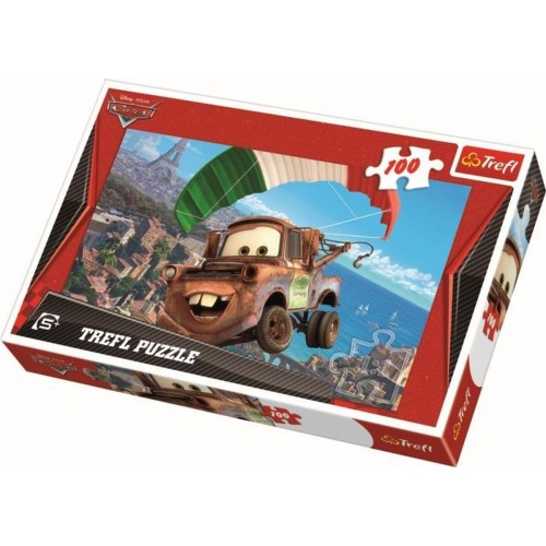 Cars puzzel 100 stukjes 5+