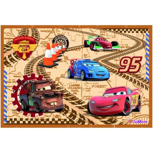 Disney Cars pin puzzel 2+