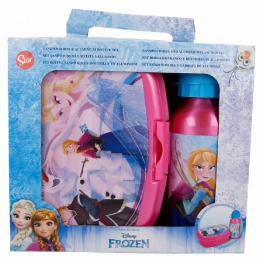 Disney Frozen 2 delige lunchset lunchbox en aluminium drinkbeker