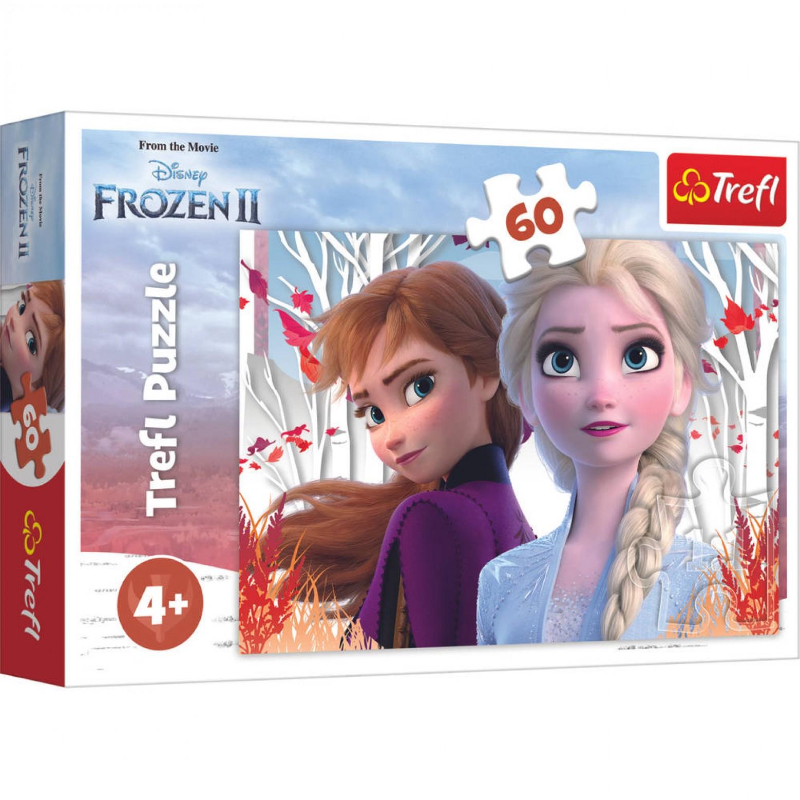 Frozen II puzzel 60 stukjes 4+