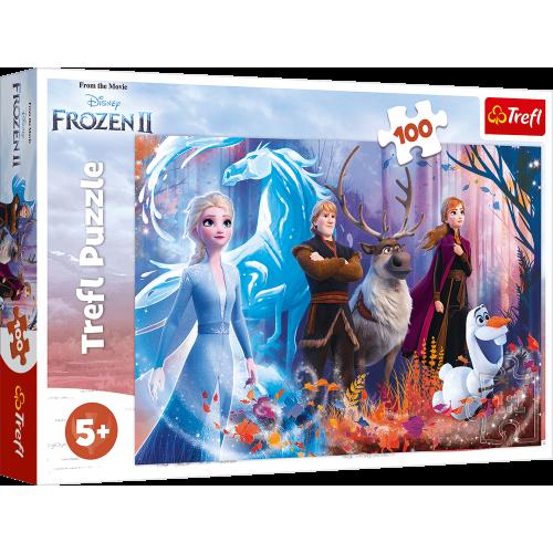 Disney Frozen II puzzel 100 stukjes vanaf 5 jaar