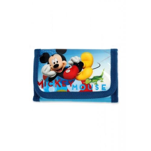 Disney Mickey Mouse portemonnee blauw