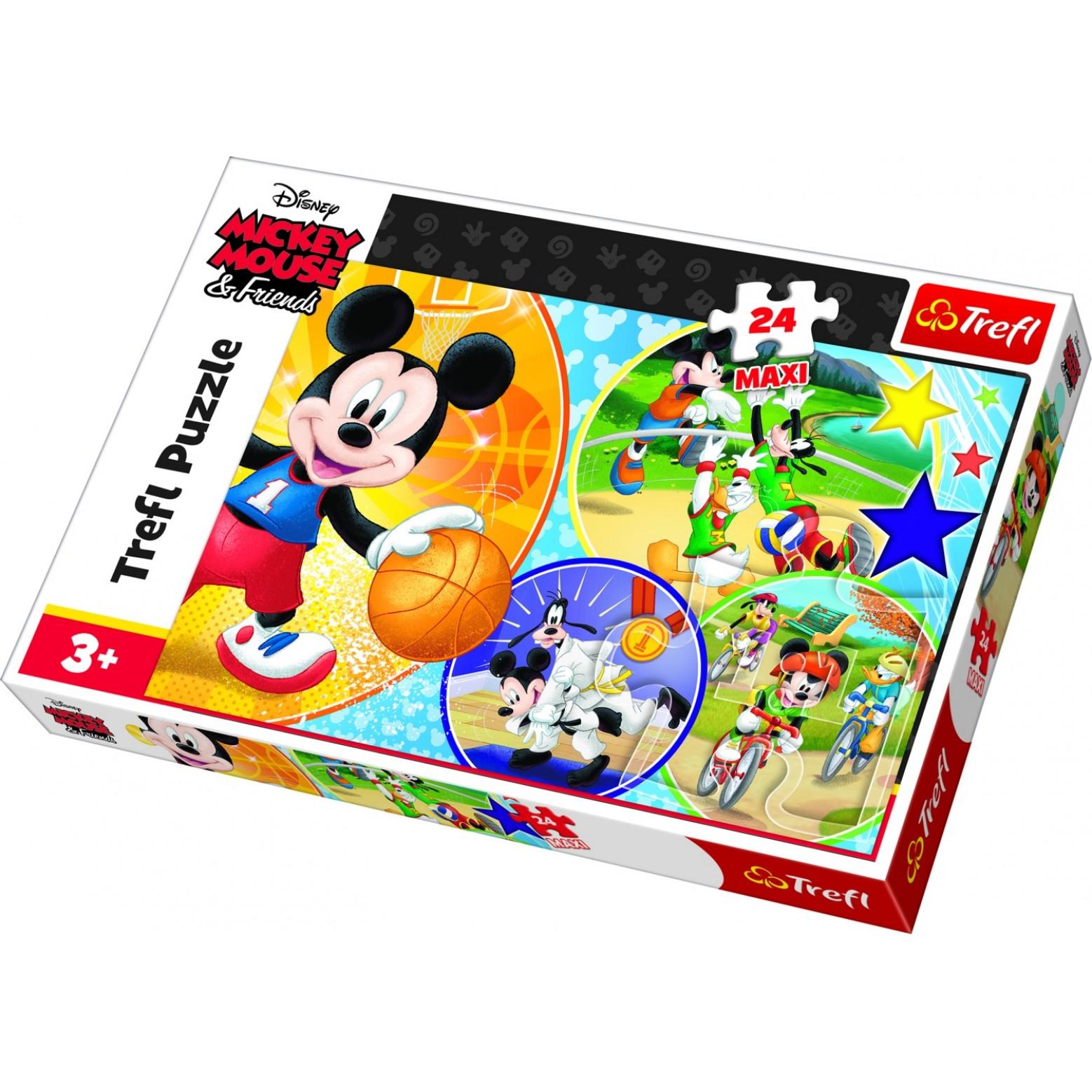 Mickey Mouse puzzel 24 stukjes 3+