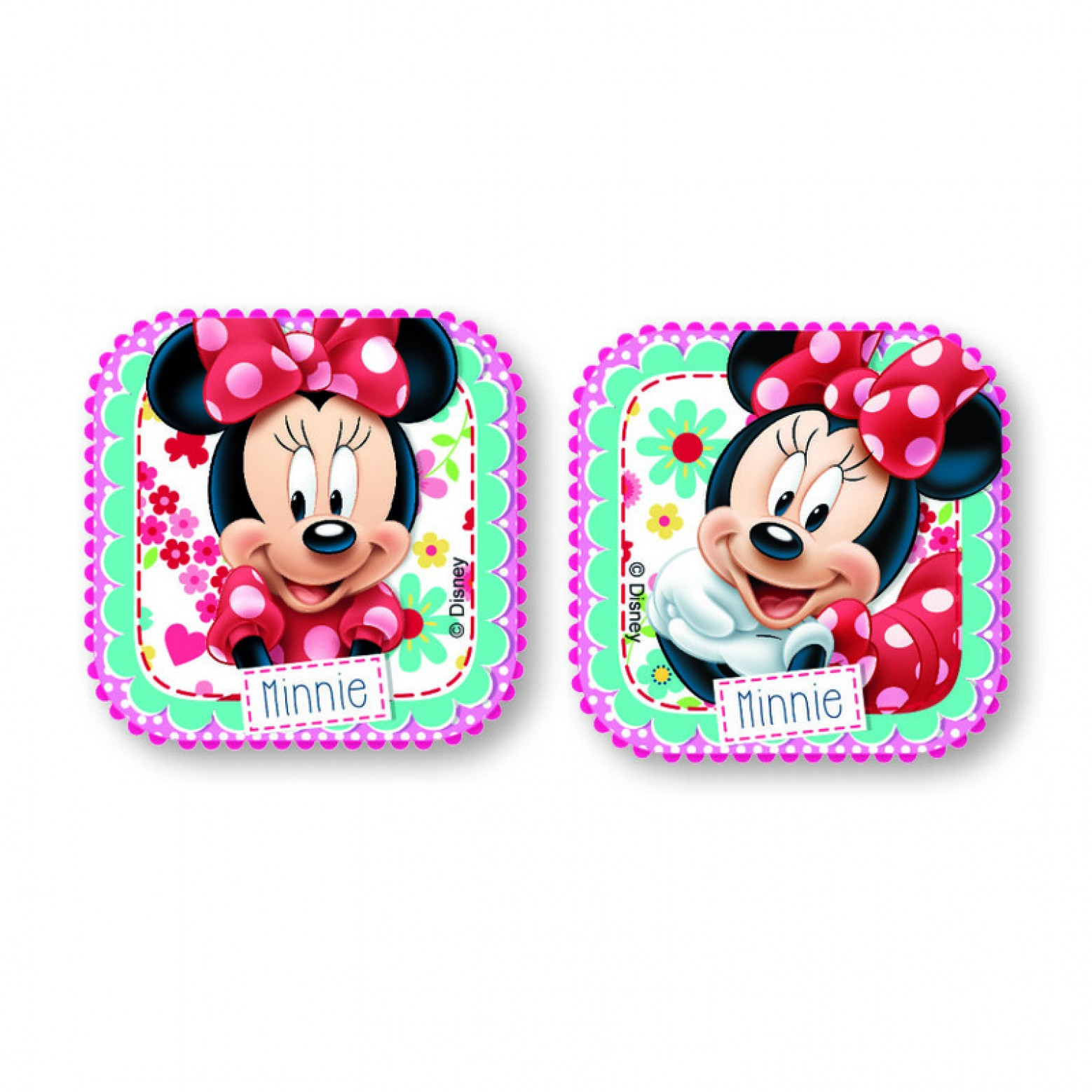 Minnie Mouse lade/kast knoppen 2-delig