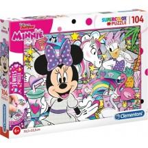 Minnie Mouse puzzel 104 stukjes 6+