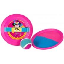Minnie Mouse vangbal spel met klittenband