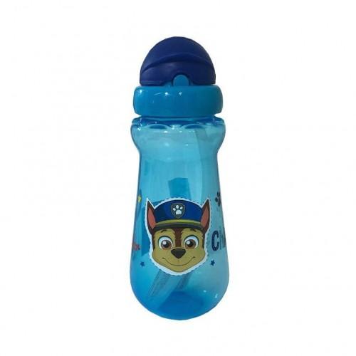 Paw Patrol Chase drinkbeker met pop-up rietje blauw