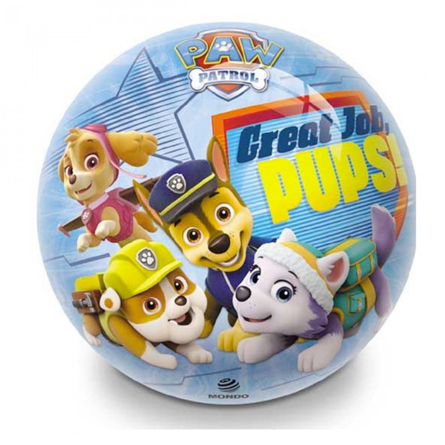 Paw Patrol plastic speelbal