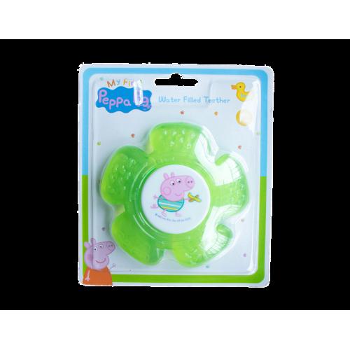 Peppa Pig rammelaar en bijtring vanaf 3 maand blauw/groen
