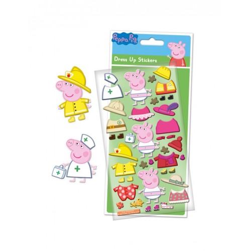 Peppa Pig aankleed schuimstickers 3+