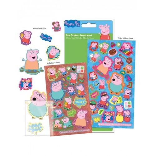 Peppa Pig sticker set 3+