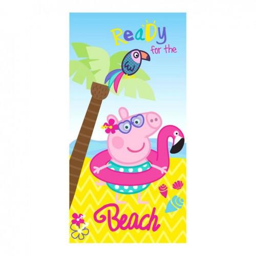 Peppa pig strandlaken beach