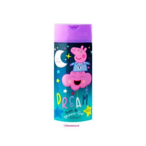 Peppa Pig bad- en douchegel 400 ml 2 stuks
