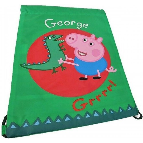 Peppa Pig gymtas George en meneer dinosaurus