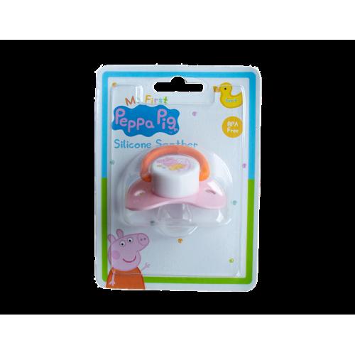 Peppa Pig speen, borstel en kam roze 3-delig