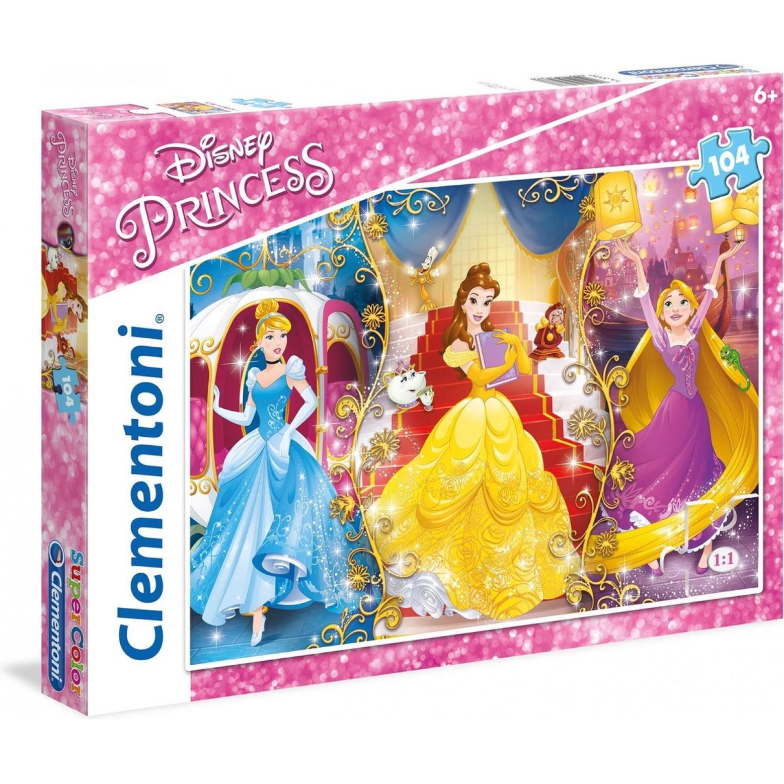 Disney Princess puzzel 104 stukjes 6+