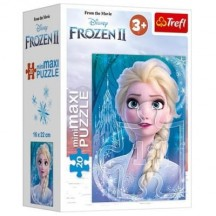 Disney Frozen puzzel Elsa en Olaf 2x 20 stukjes, vanaf 3 jaar