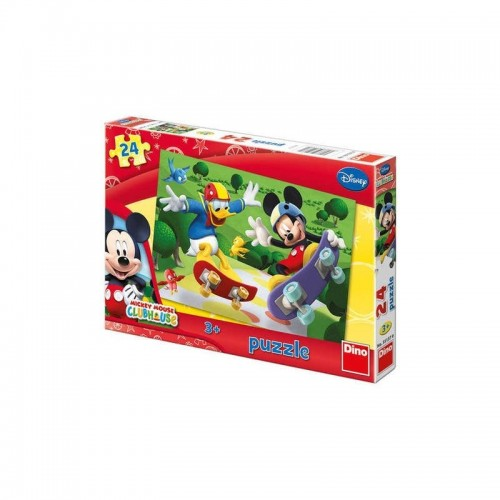 Mickey mouse Clubhouse puzzel 24 stukjes 3+