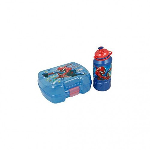 Marvel Spiderman lunchbox met drinkbeker
