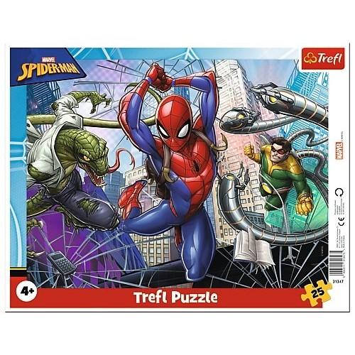 Marvel Spider-man 25 stukjes 4+