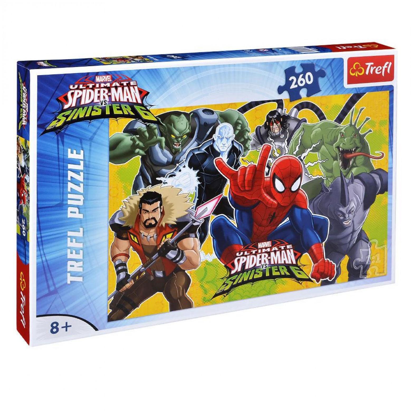 Spider-man puzzel 260 stukjes 8+