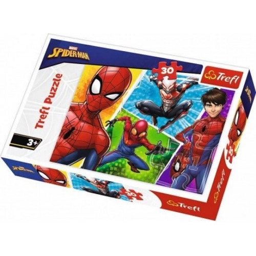 Marvel Spiderman puzzel 3+