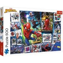 Marvel Spider-man puzzel 500 stukjes 8+