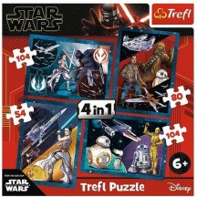 Star Wars 4 in 1 puzzel 6+