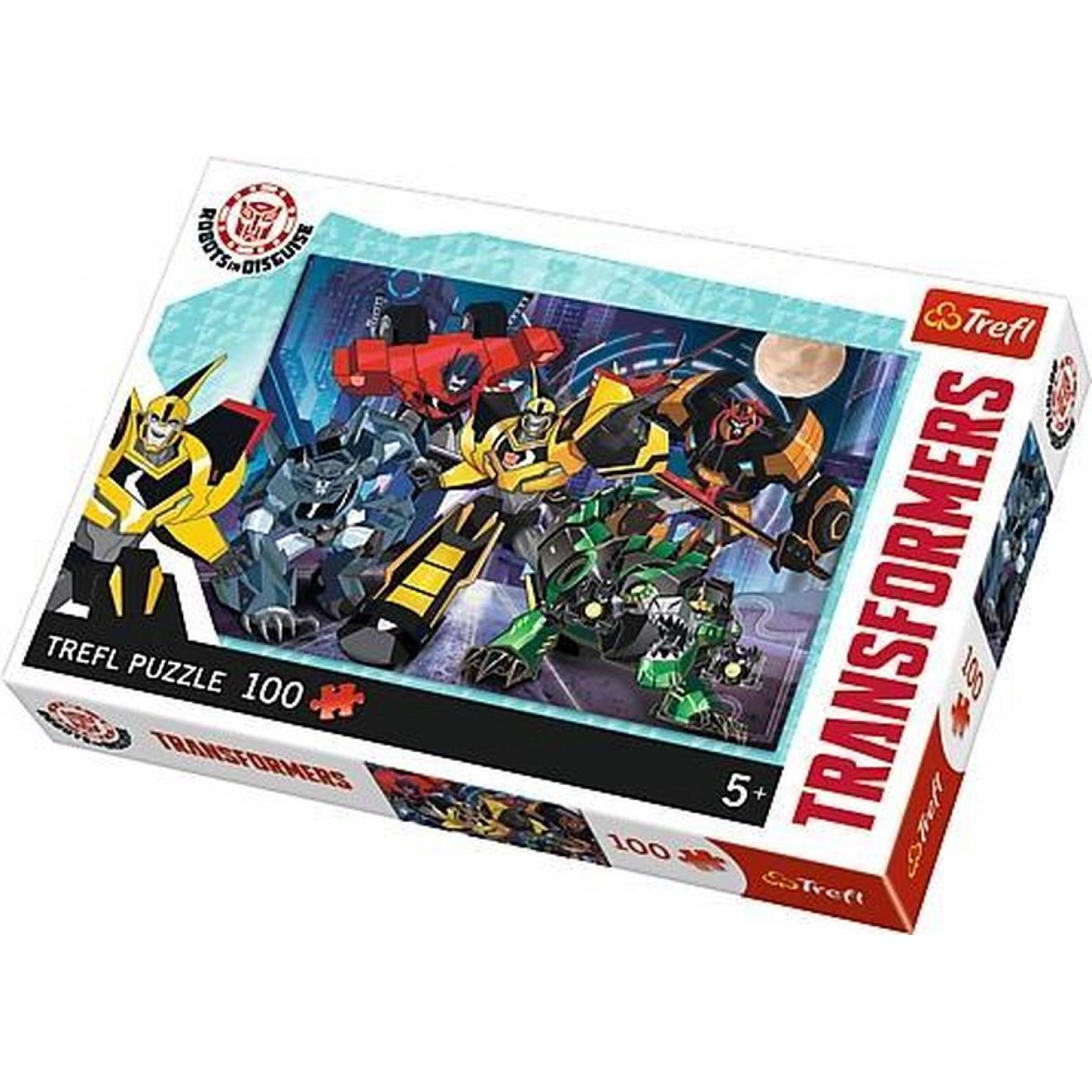 Transformers puzzel 100 stukjes 5+