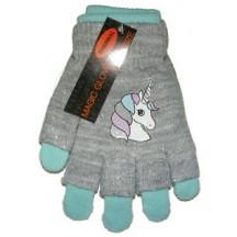 Disney Unicorn handschoenen blauw