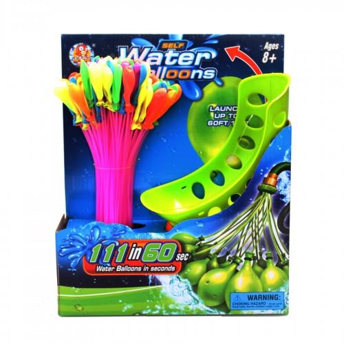 Water ballonnen - 111 ballonnen - waterpret - zomer speelgoed - kindvriendelijk - zelfsluitend