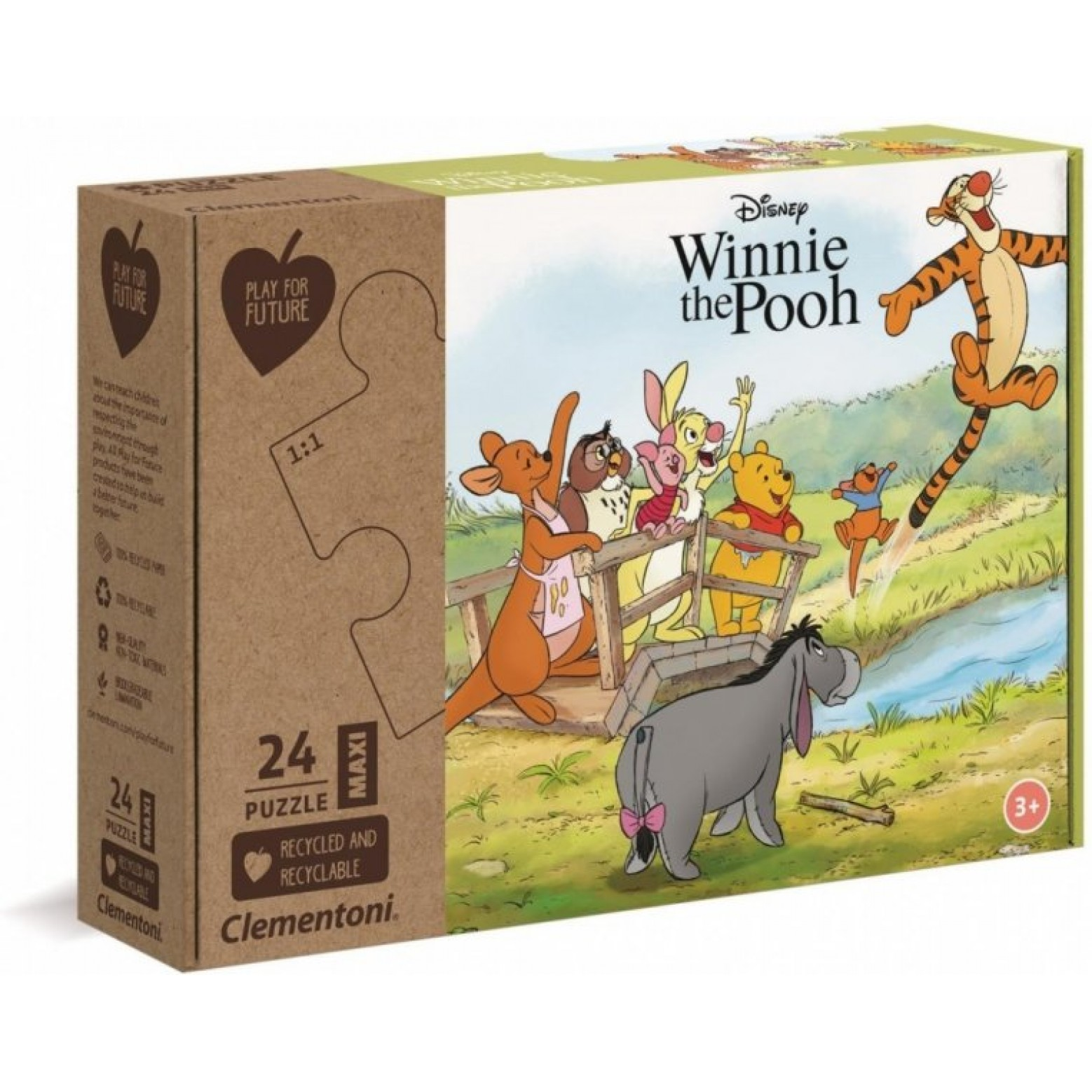 Winnie de Pooh puzzel 24 stukjes 3+