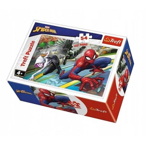 Marvel Spider-man mini puzzel 2 stuks 54 stukjes 4+