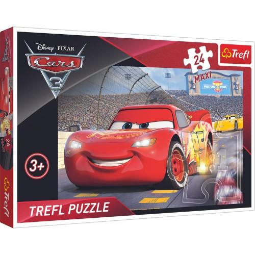Disney Cars Maxi puzzel 24 stukjes  62x42 cm