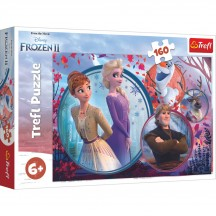 Frozen II puzzel 160 stukjes 6+