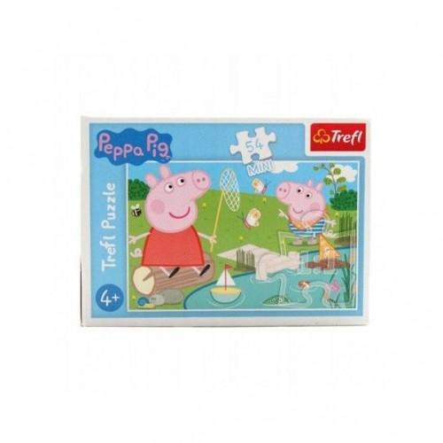 Peppa Pig  mini puzzel 2 stuks 54 stukjes 4+