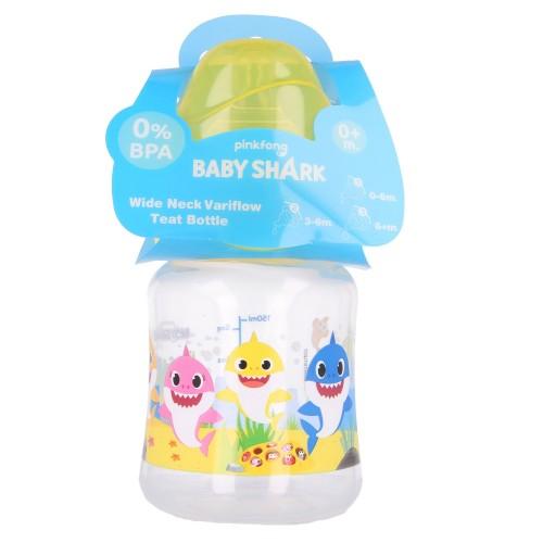 Baby Shark Babyflessen set van 3