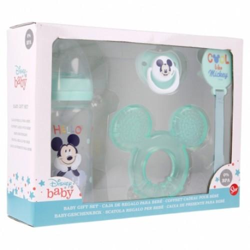 Disney Baby Mickey Mouse baby cadeau set 4-delig