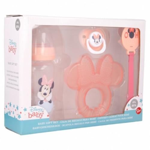 Disney Baby Minnie Mouse baby cadeau set 4-delig