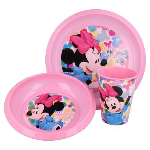 Minnie Mouse 3-delig ontbijt set