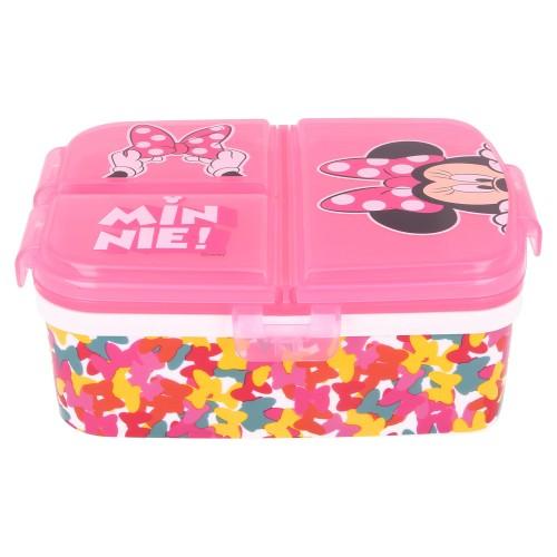 Minnie Mouse 3-vaks broodtrommel