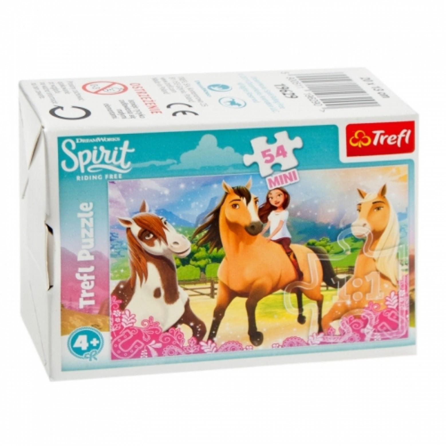 Spirit mini puzzels 2 stuks 54 stukjes 4+