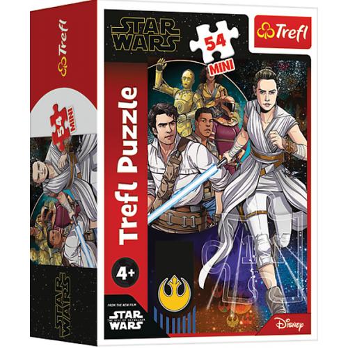 Star Wars mini puzzels 4x  54 stukjes 4+