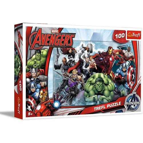 Marvel Avengers puzzel 100 stukjes 5+