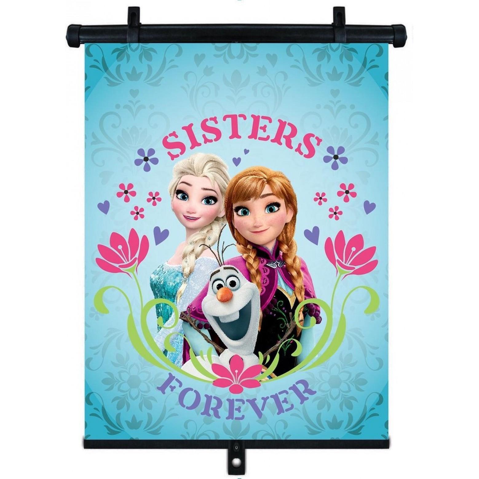 Verstelbaar auto Zonnescherm van Frozen Sisters Forever