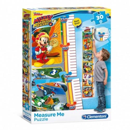 Mickey en de Roadster Racers groeigrafiek puzzel 30 st