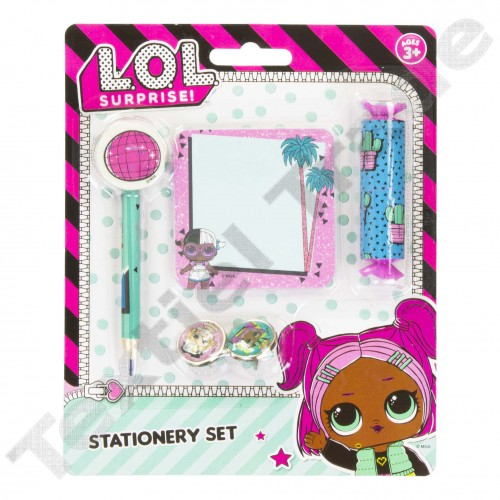 L.O.L Surprise stationery set 6 delig