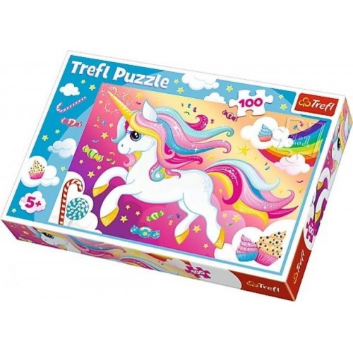 Unicorn puzzel 100 st 5+