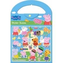 PEPPA PIG STICKER SCENES